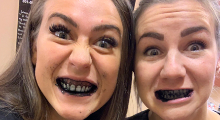 Brushing with activated charcoal leaves big mess, but does it work?