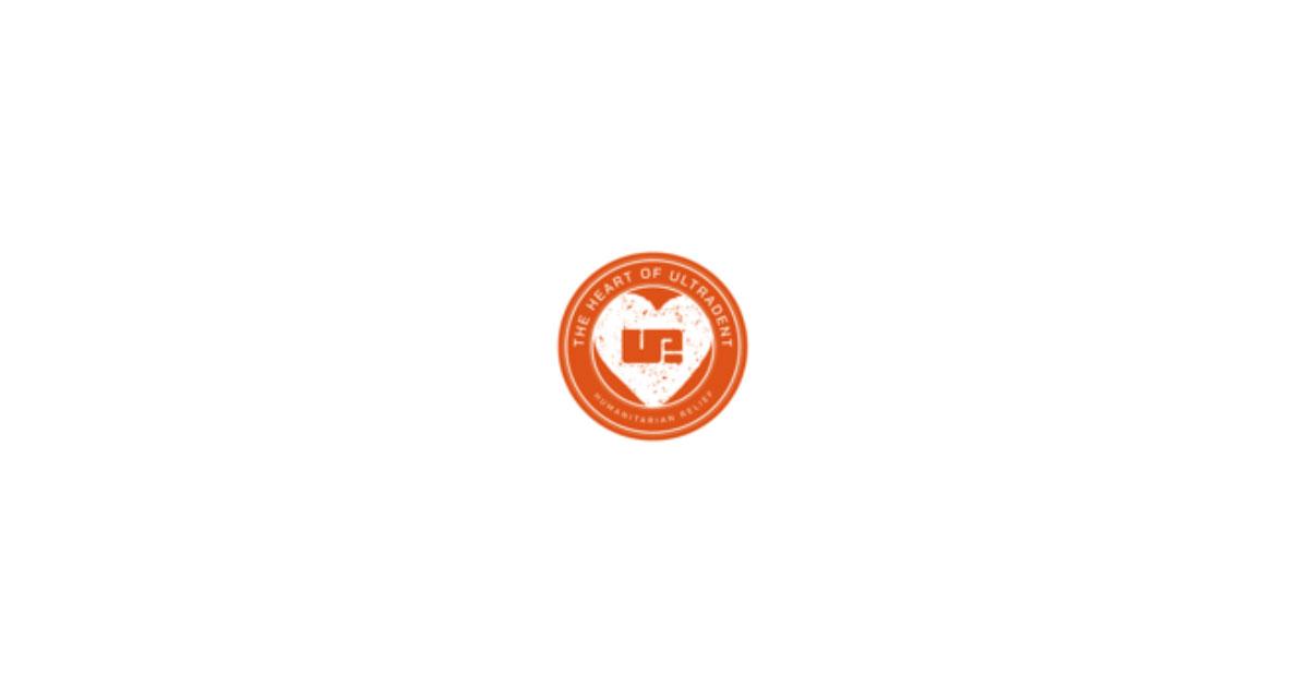 Heart of Ultradent Humanitarian Logo