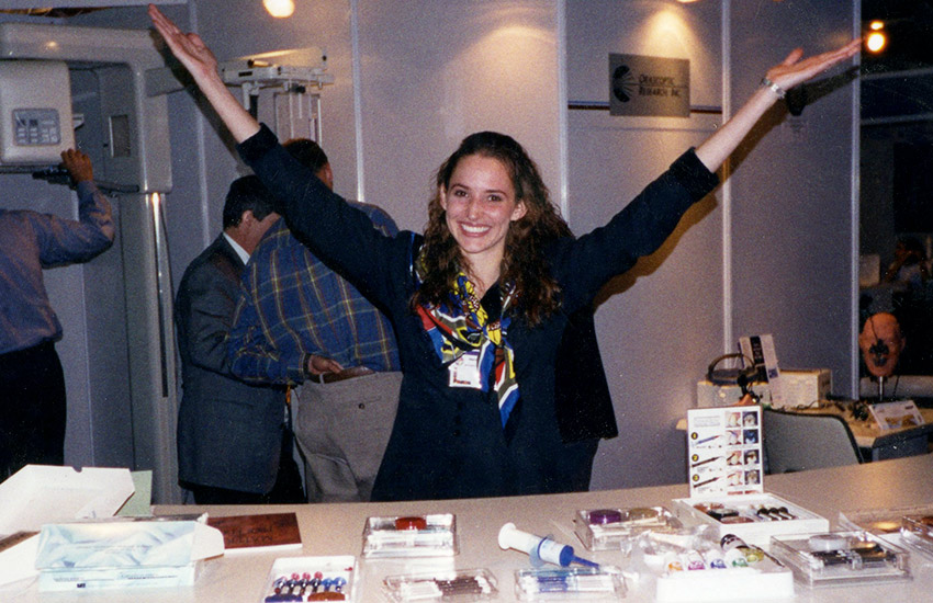 Trade show in South Africa 1997