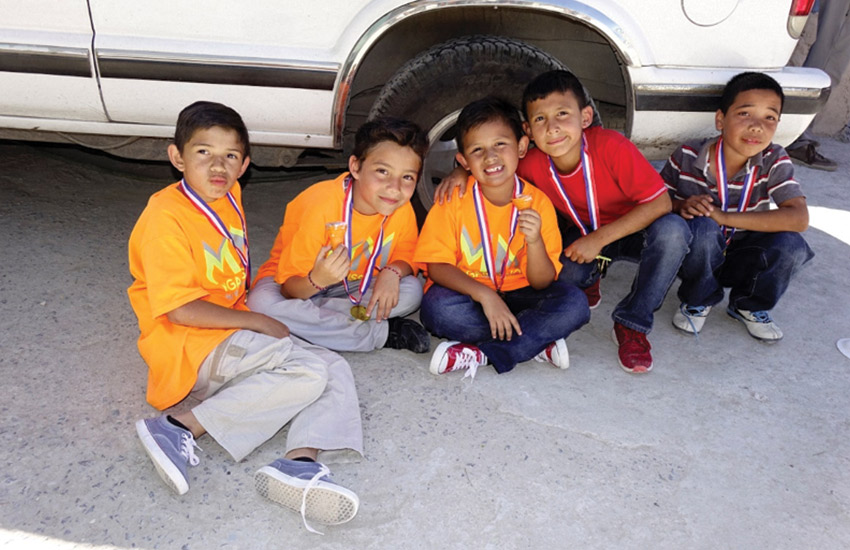 Children after receiving care