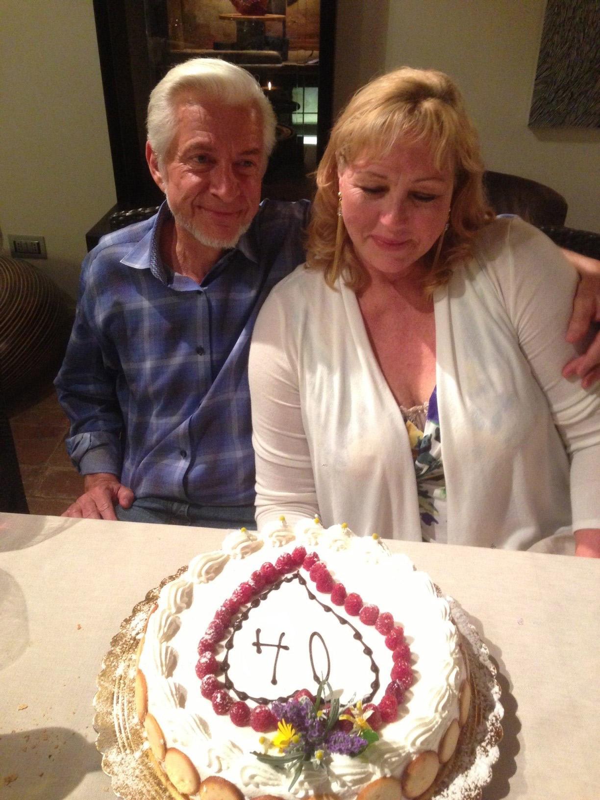 Dr. Fischer and wife Leenie