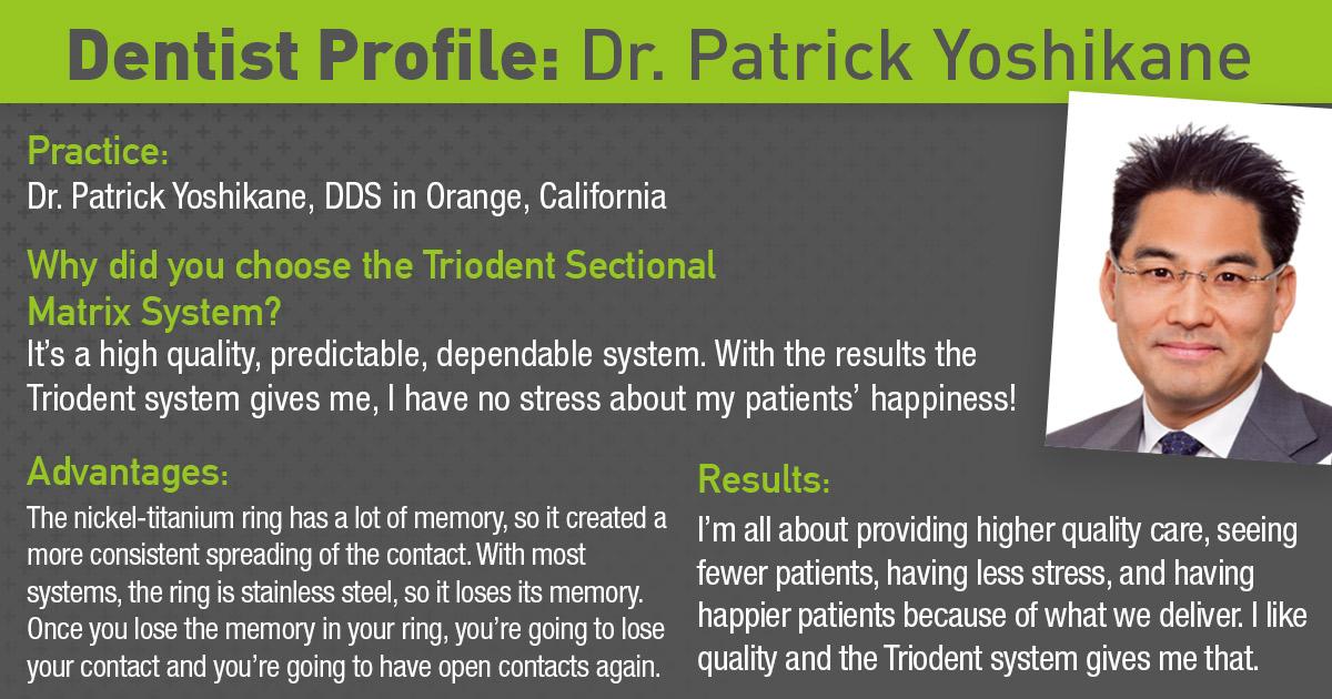 Dr. Patrick Yoshikane