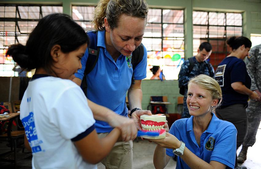 South American Volunteers